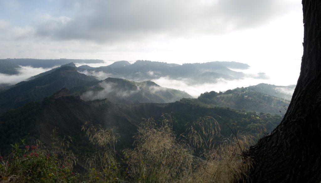 Panorama Valle di Civita